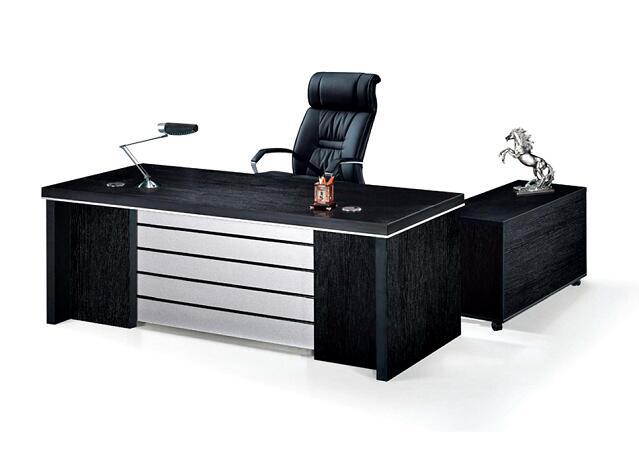 black desks computer tables black office desk china foshan