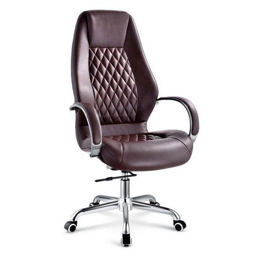 Best Quality Adjule Executive Pu Leather Ergonomic Office Chairs China Metal Armchair